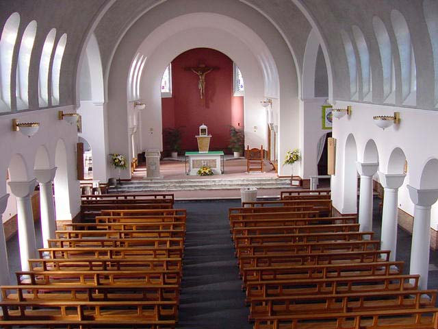 St Bernard's Church - Interior