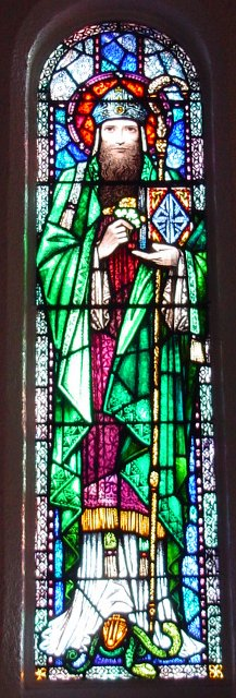 Stained Glass St Patrick