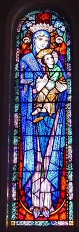 Stained Glass Mary