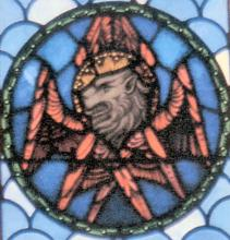 Stained Glass Mark the Evangelist
